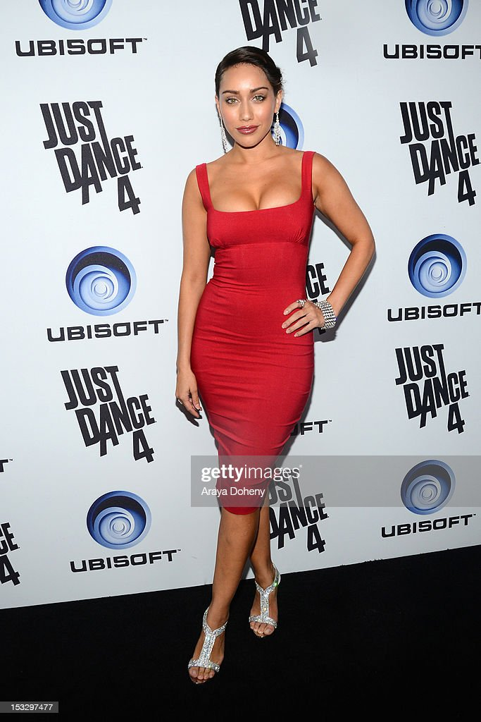Korrina Rico attends The Launch Of Just Dance 4 presented by Ubisoft at Lexington Social House on October 2, 2012 in Hollywood, California.