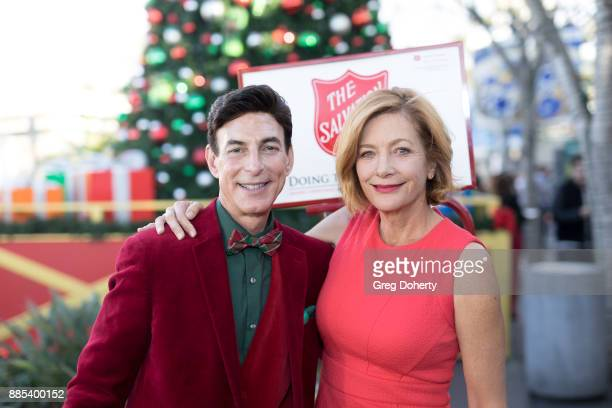 Korros and Singersongwriter Kiki Ebsen attend The Salvation Army Celebrity Kettle Kickoff Red Kettle Hollywood at the Original Farmers Market on...