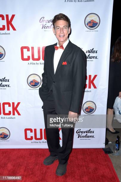 J Korros attends the premiere of the film Cuck at TCL Chinese Theatre on October 03 2019 in Hollywood California