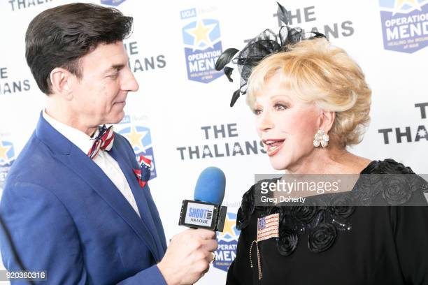 Korros interviews Actress Ruta Lee at The Thalians Hollywood for Mental Health Presidents Club Party at Dorothy Chandler Pavilion on February 18 2018...