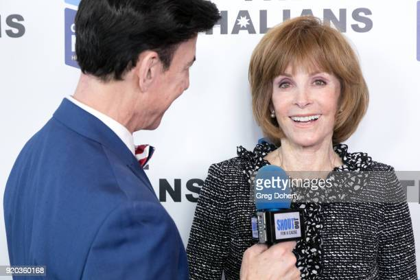 Korros interviews Stefanie Powers at The Thalians Hollywood for Mental Health Presidents Club Party at Dorothy Chandler Pavilion on February 18 2018...