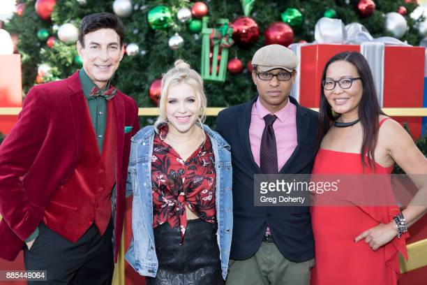 BJ Korros Singer Maggie Szabo Producer Clinton H Wallace and Journalist Joyce Chow attend The Salvation Army Celebrity Kettle Kickoff Red Kettle...