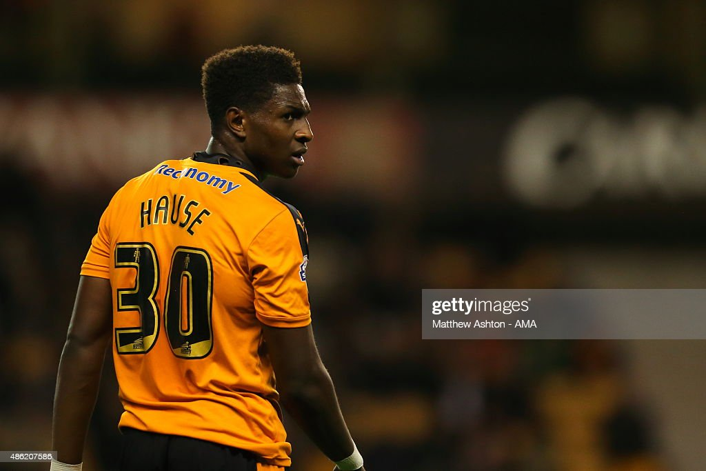Kortney Hause of Wolverhampton Wanderers during the Capital One Cup match between Wolverhampton Wanderers and Barnet at Molineux on August 25, 2015 in Wolverhampton, England.
