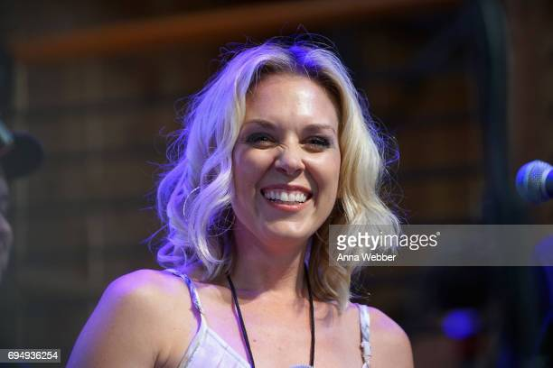 Kortney Wilson of HGTV's Masters of Flip speaks onstage at the HGTV Lodge during CMA Music Fest on June 11 2017 in Nashville Tennessee