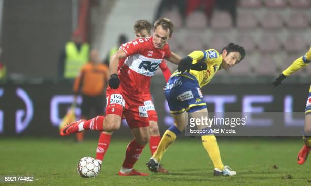 20171202 Kortrijk Belgium / Kv Kortrijk v WaaslandBeveren / 'nYevheni MAKARENKO Ryota MORIOKA'nFootball Jupiler Pro League 2017 2018 Matchday 17 /...