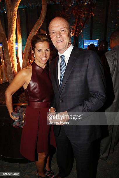 Kory Apton and Phil Griffin attend Al Sharpton's 60th Birthday Celebration at Four Seasons Hotel New York on October 1 2014 in New York City