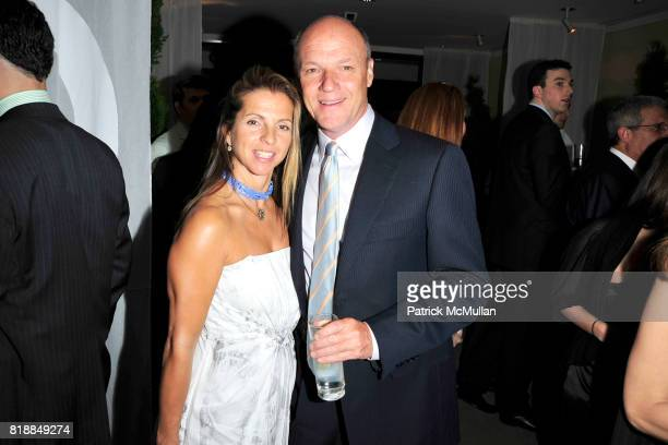 Kory Griffin and Bill Griffin attend CHRISTIE'S The Green Auction A Bid To Save The Earth at Christie's on April 22 2010 in New York City
