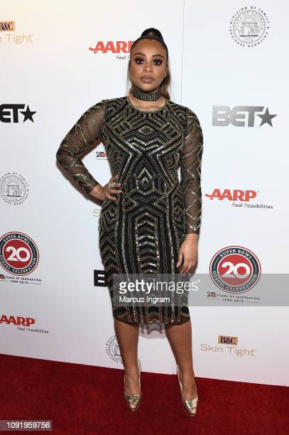 Koryn Hawthorne attends the 2019 Super Bowl Gospel Celebration at Atlanta Symphony Hall on January 31 2019 in Atlanta Georgia