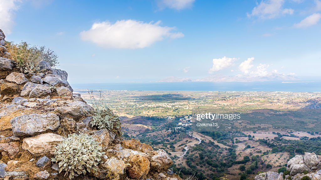 Kos island panorama : Stock Photo