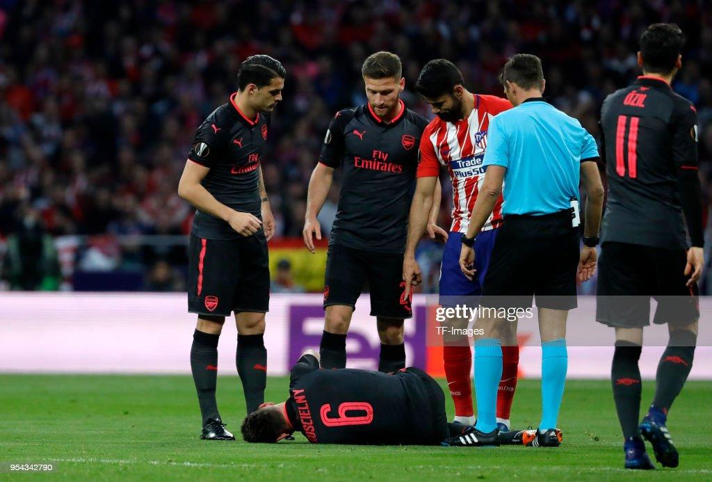 Atletico Madrid v Arsenal FC  - UEFA Europa League Semi Final Second Leg : ニュース写真