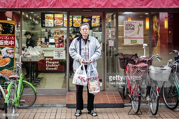 Kosei 54 years old bought KFC for his family on December 24 2015 in Tokyo Japan Some of the popular ways to spend the Japanese Christmas Eve are...