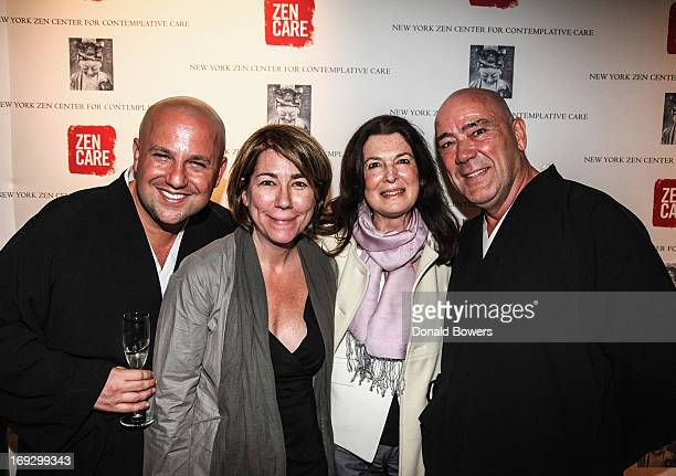Koshin Paley Ellison Jennifer Greenfield Rose Boyle and Robert Chodo Campbell attend the 2013 Contemplative Care Awards at Rubin Museum of Art on May...