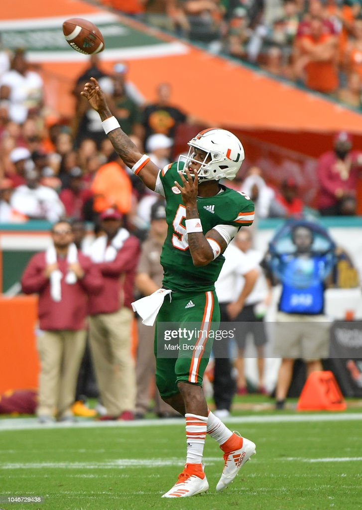Florida State v Miami : News Photo