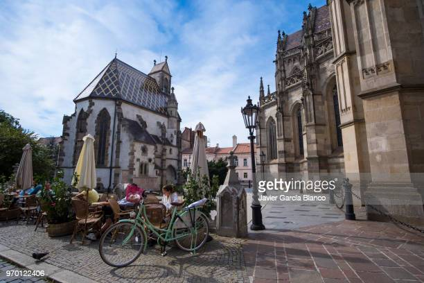 kosice old town - kosice stock photos and pictures