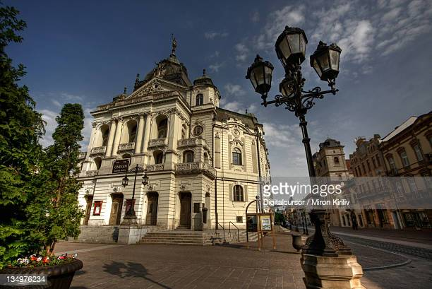kosice theatre - kosice stock photos and pictures