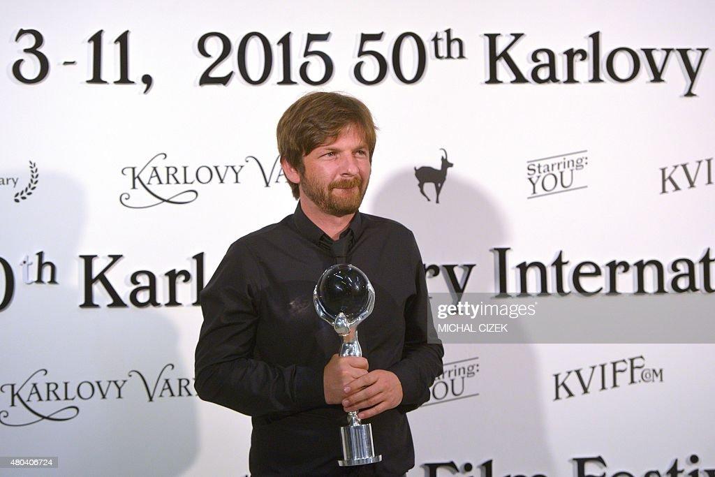 CZECH-REPUBLIC-ENTERTAINMENT-CINEMA-KVIFF : News Photo