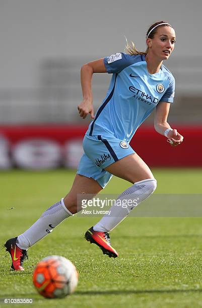 Kosovare Asllani of Manchester City Women during the FA Women's Super League match between Manchester City Women and Chelsea Ladies FC at City...