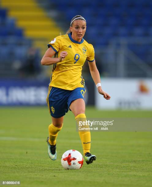 Kosovare Asllani of Sweden Women during the UEFA Women's Euro 2017 Group B match between Germany and Sweden at Rat Verlegh Stadion on July 17 2017 in...