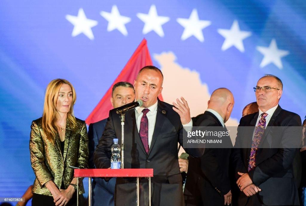KOSOVO-FRANCE-SERBIA-POLITICS : News Photo
