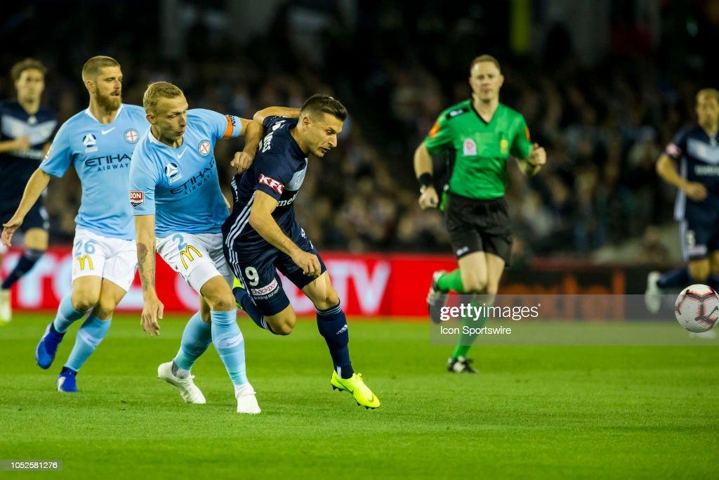 SOCCER: OCT 20 A-League - Melbourne Victory v Melbourne City : News Photo