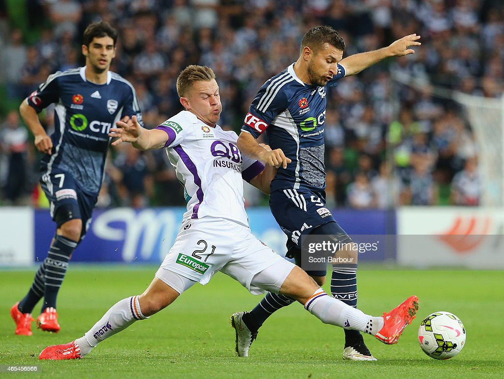 A-League Rd 20 - Melbourne v Perth