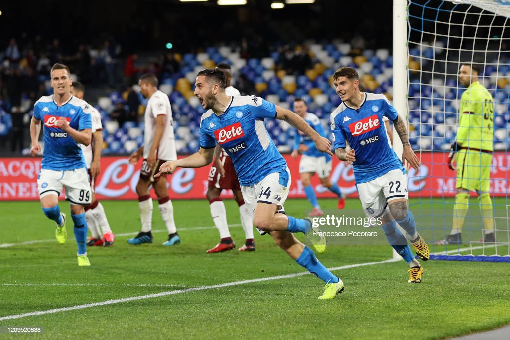 SSC Napoli v Torino FC - Serie A : News Photo