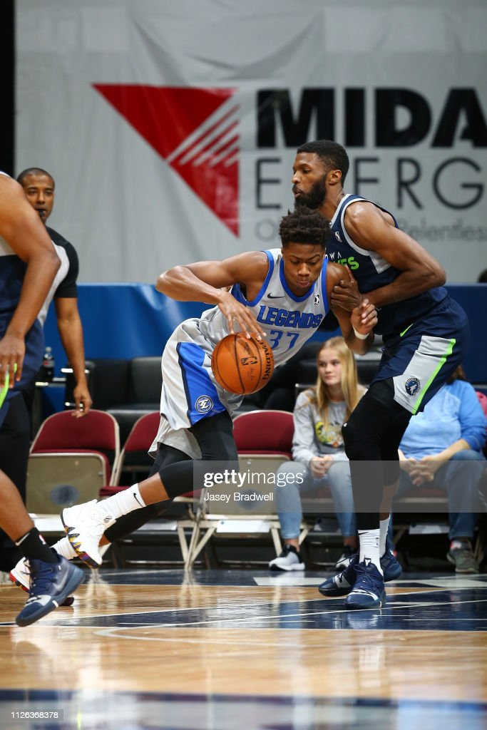 IA: Texas Legends v Iowa Wolves