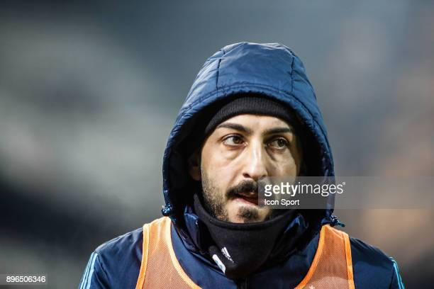 Kostas Mitroglou of Marseille during the Ligue 1 match between Olympique Marseille and Troyes AC at Stade Velodrome on December 20 2017 in Marseille