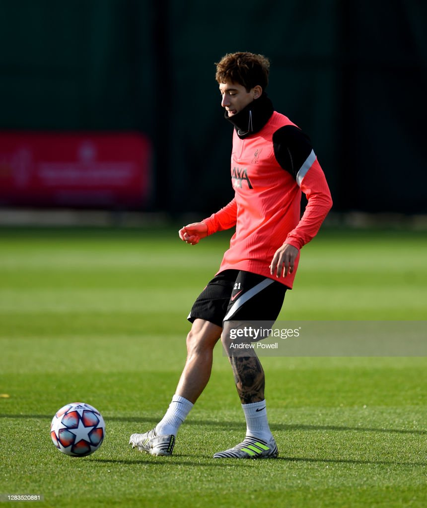 Liverpool FC - Press Conference And Training Session : Photo d'actualité