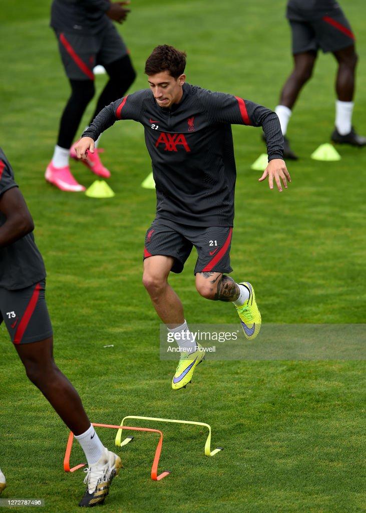 Liverpool Training Session : Photo d'actualité