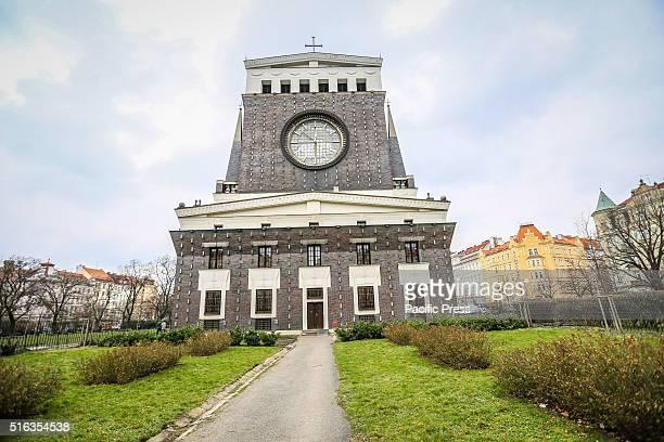 'Kostel Nejsvtjího srdce Pán' Church of the Sacred Heart in the suburb PragueVinohrady