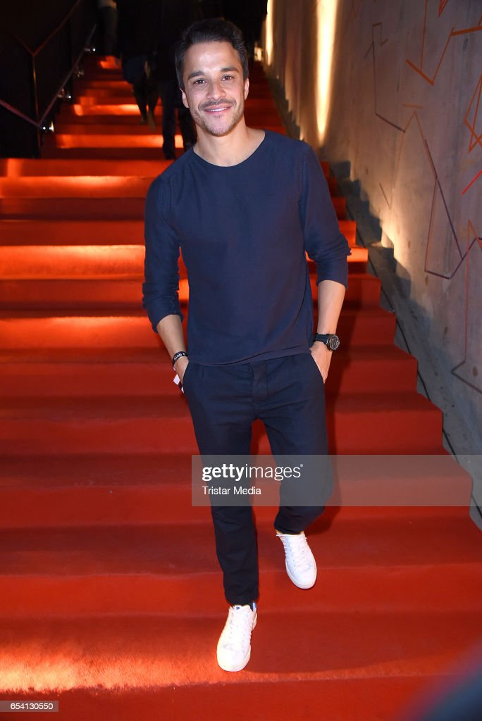 Kostja Ullmann attends the After Party of the premiere of the Amazon series 'You are wanted' at CineStar on March 15, 2017 in Berlin, Germany.
