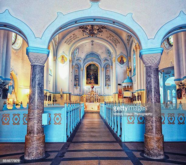 kostol svätej alzbety - bratislava stock pictures, royalty-free photos & images