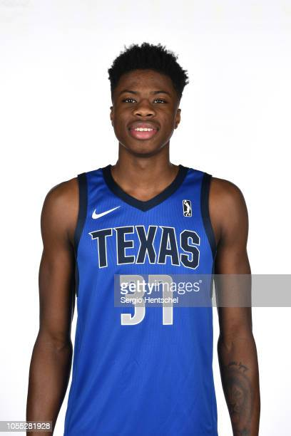 Kostos Antetokounmpo of the Texas Legends poses for a head shot during the NBA GLeague media day at Dr Pepper Arena in Frisco Texas NOTE TO USER User...