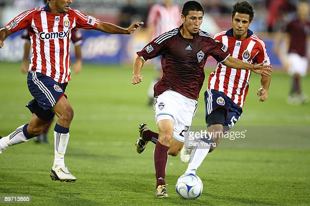 Kosuke Kimura of the Colorado Rapids controls the ball against Chivas USA on August 8 2009 at Dicks Sporting Goods Park in Commerce City Colorado