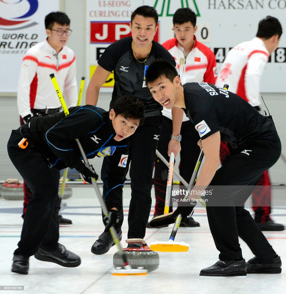 Pacific-Asia Curling Championships - Day 8