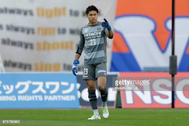 Kosuke Nakamura in action during the JLeague J1 match between Albirex Niigata and Kashiwa Reysol at Denka Big Swan Stadium on April 30 2017 in...