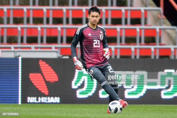 Kosuke Nakamura of Japan during the International friendly match between Japan and Mali at the Stade de Sclessin on March 23 2018 in Liege Belgium
