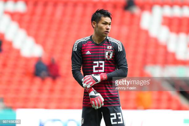 Kosuke Nakamura of Japan during the International friendly match between Japan and Mali on March 23 2018 in Liege Belgium