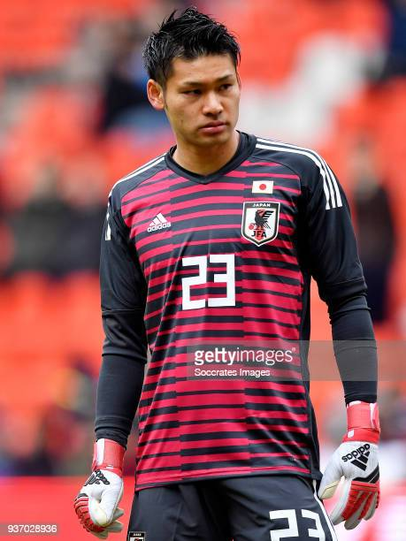 Kosuke Nakamura of Japan during the International Friendly match between Japan v Mali at the Stade Maurice Dufrasne on March 23 2018 in Luik Belgium