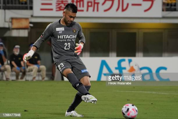 Kosuke Nakamura of Kashiwa Reysol in action during the J.League Meiji Yasuda J1 match between Kashiwa Reysol and Cerezo Osaka at Sankyo Frontier...