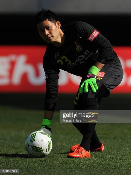 Kosuke Nakamura of Kashiwa Reysol in action during the preseason friendly match between JEF United Chiba and Kashiwa Reysol at the Fukuda Denshi...