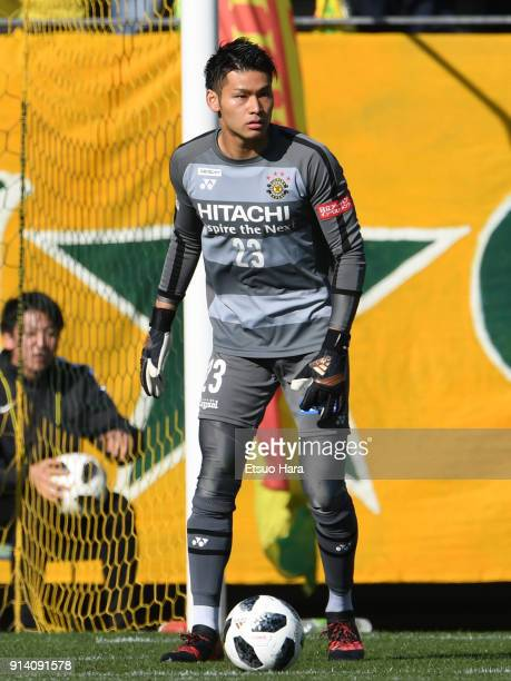 Kosuke Nakamura of Kashiwa Reysol in action during the preseason friendly match between JEF United Chiba and Kashiwa Reysol at Fukuda Denshi Arena on...