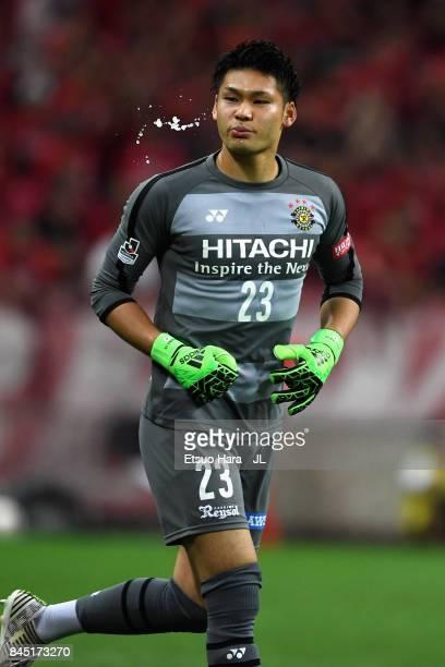 Kosuke Nakamura of Kashiwa Reysol looks on during the JLeague J1 match between Urawa Red Diamonds and Kashiwa Reysol at Saitama Stadium on September...