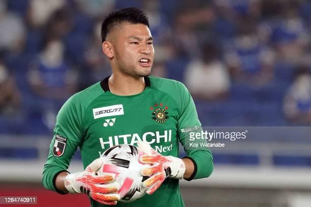 Kosuke Nakamura of Kashiwa Reysol looks on during the J.League Meiji Yasuda J1 match between Yokohama F.Marinos and Kashiwa Reysol at Nissan Stadium...