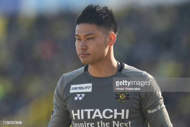 Kosuke Nakamura of Kashiwa Reysol looks on during the preseason friendly match between Kashiwa Reysol and JEF United Chiba at Sankyo Frontier Kashiwa...