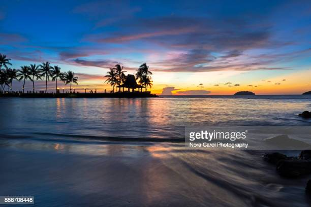 Kota Kinabalu Beach Sunset