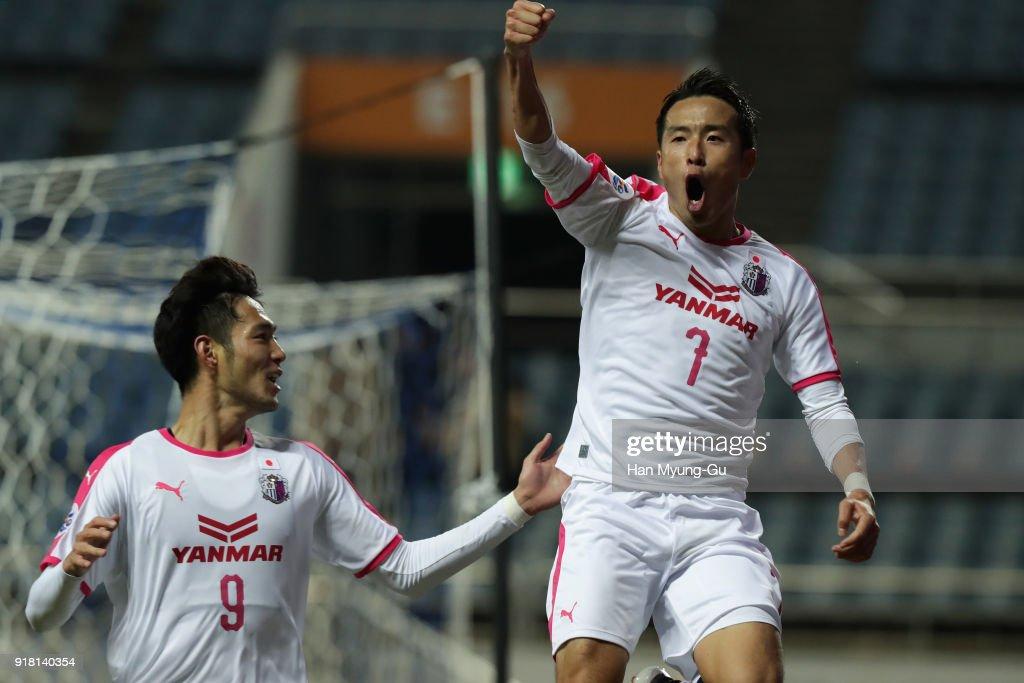 Jeju United v Cerezo Osaka - AFC Champions League Group G : ニュース写真