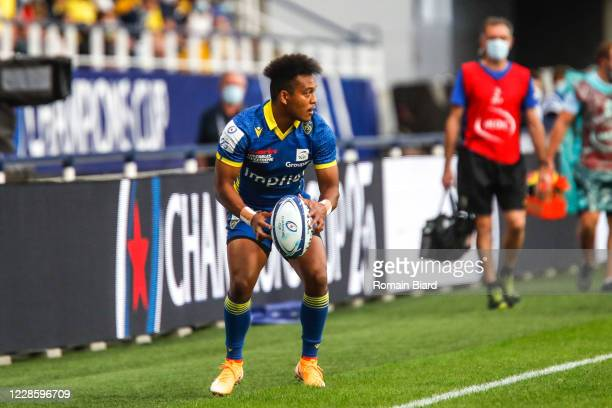Kotaro MATSUSHIMA of Clermont during the Quarter-Final Champions Cup match between Clermont and Racing92 at Stade Marcel Michelin on September 19,...
