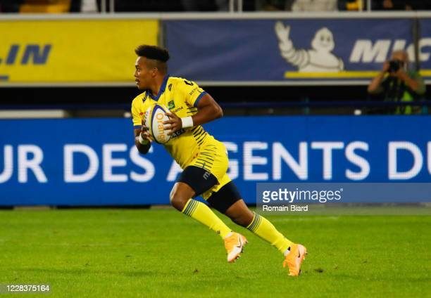 Kotaro MATSUSHIMA of Clermont during the Top 14 match between ASM Clermont and Stade Toulousain at Parc des Sport Marcel-Michelin on September 6,...